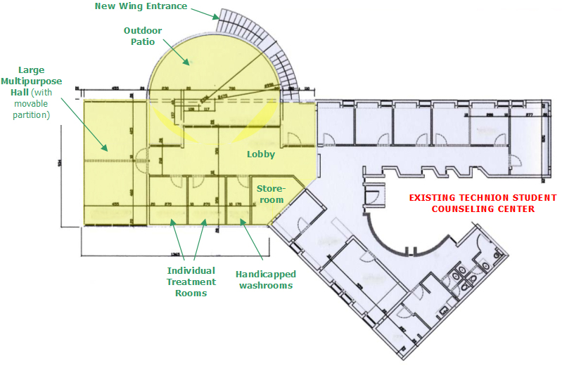 Student Counseling Center Floor Plan