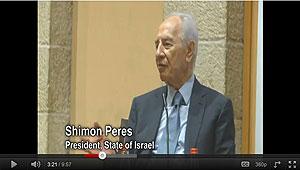 Shimon Peres, Israel President
